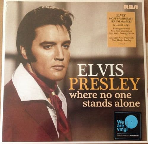 Elvis Presley<br>Where No One Stands Alone<br>LP